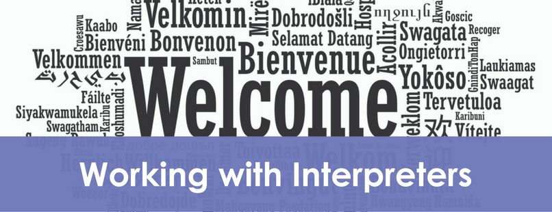 Working with Interpreters visual